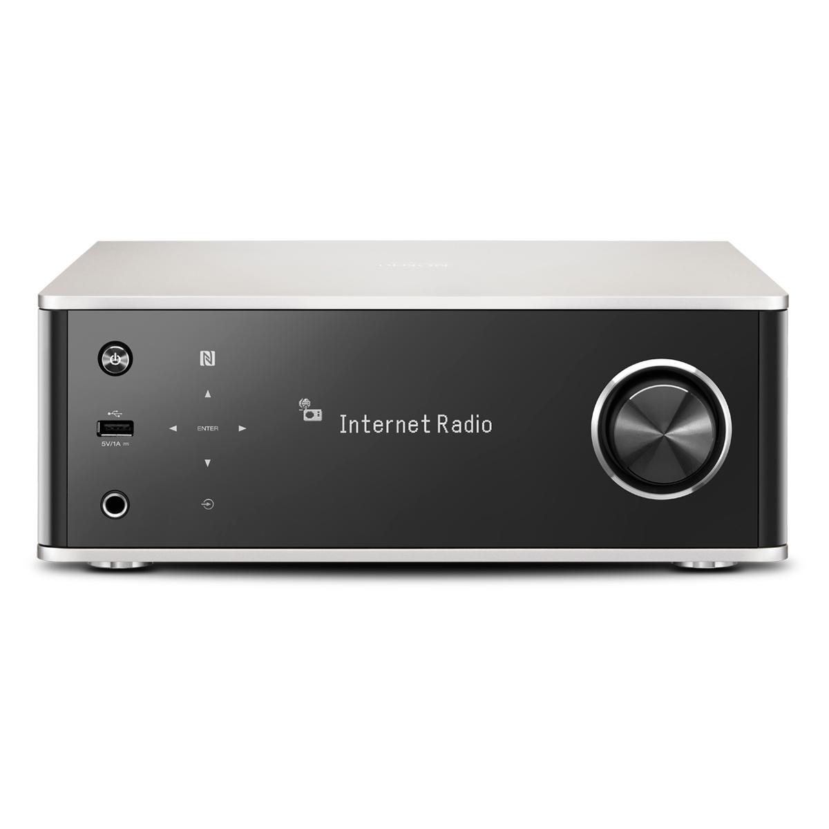 Denon DRA-100 schwarz/silber Netzwerk-Receiver 45168