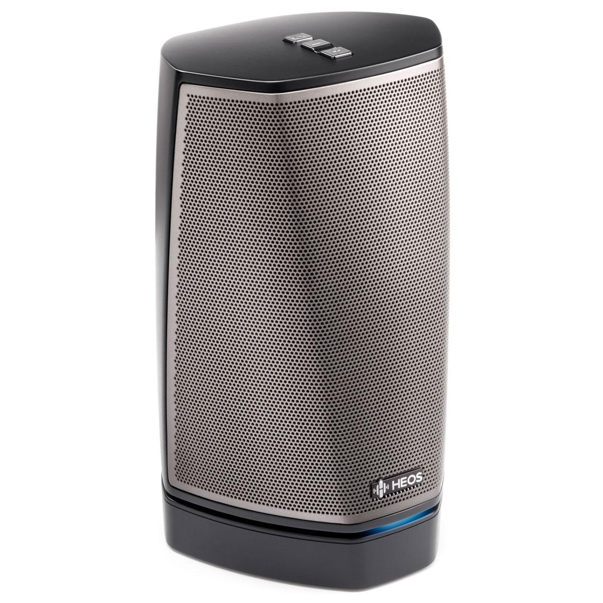 Heos 1 HS2 inkl. Go Pack schwarz Wireless-Lautsprecher