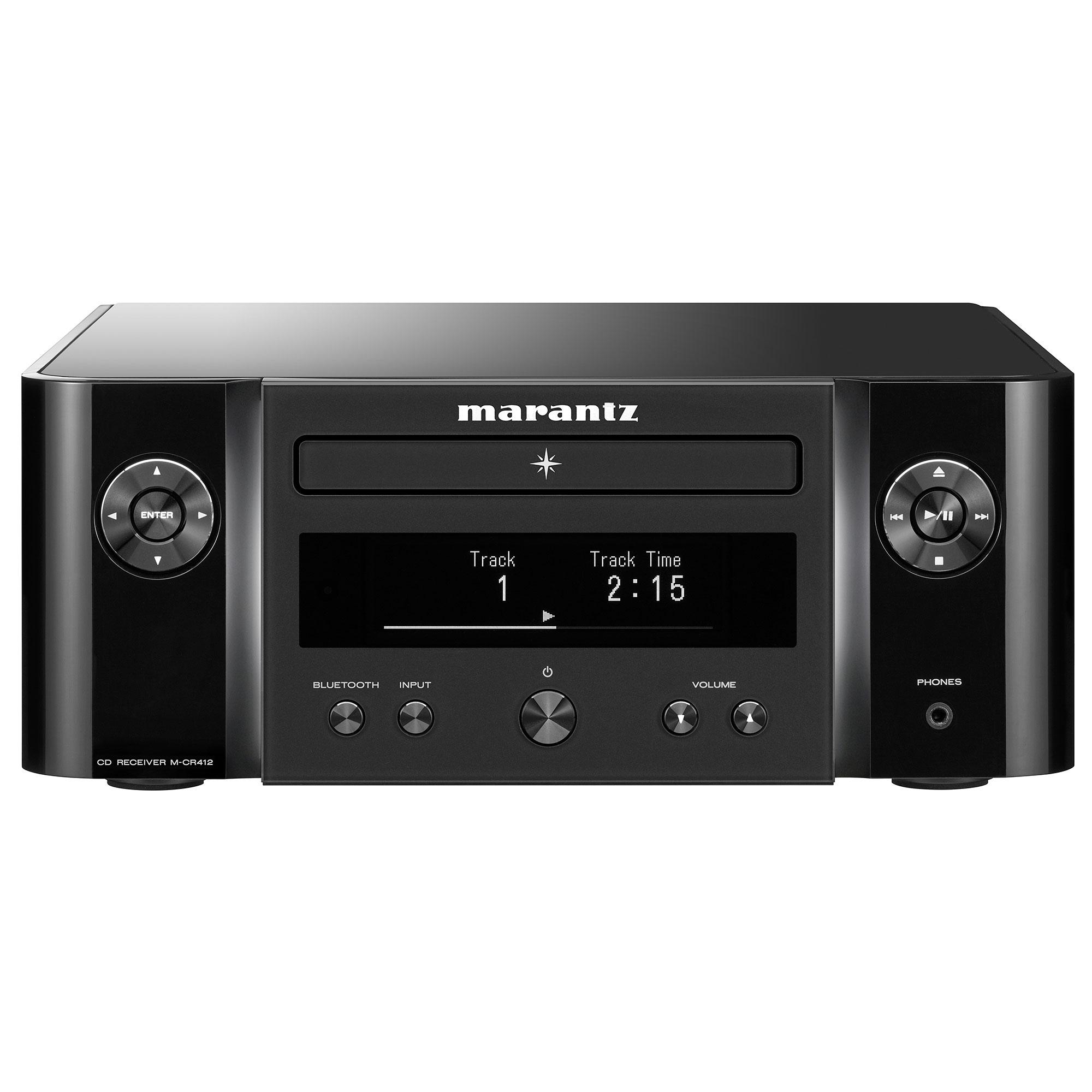 Marantz Melody (M-CR 412) schwarz Netzwerk-CD-Receiver