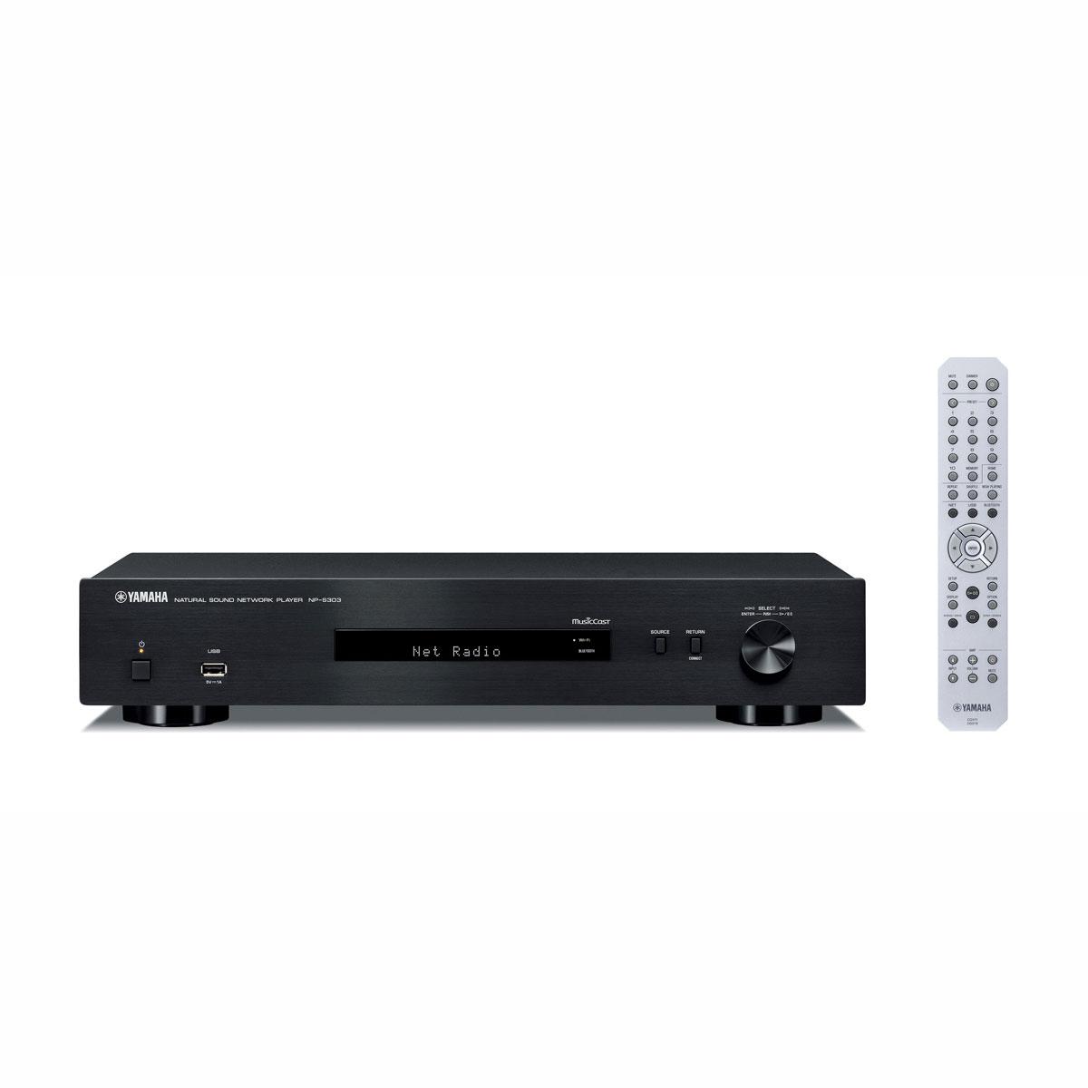 Yamaha NP-S 303 schwarz Netzwerkplayer 100064
