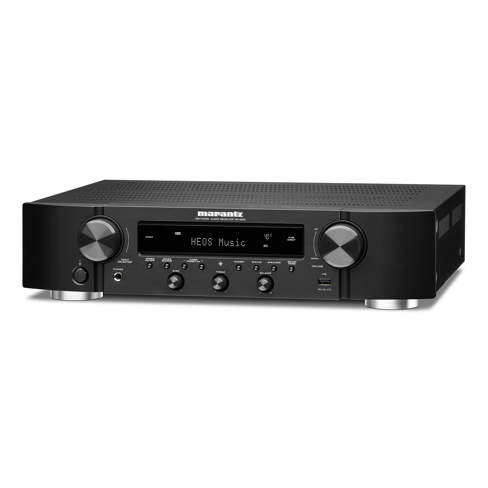 Marantz NR 1200 schwarz Stereo-Netzwerk-Receiver 101202