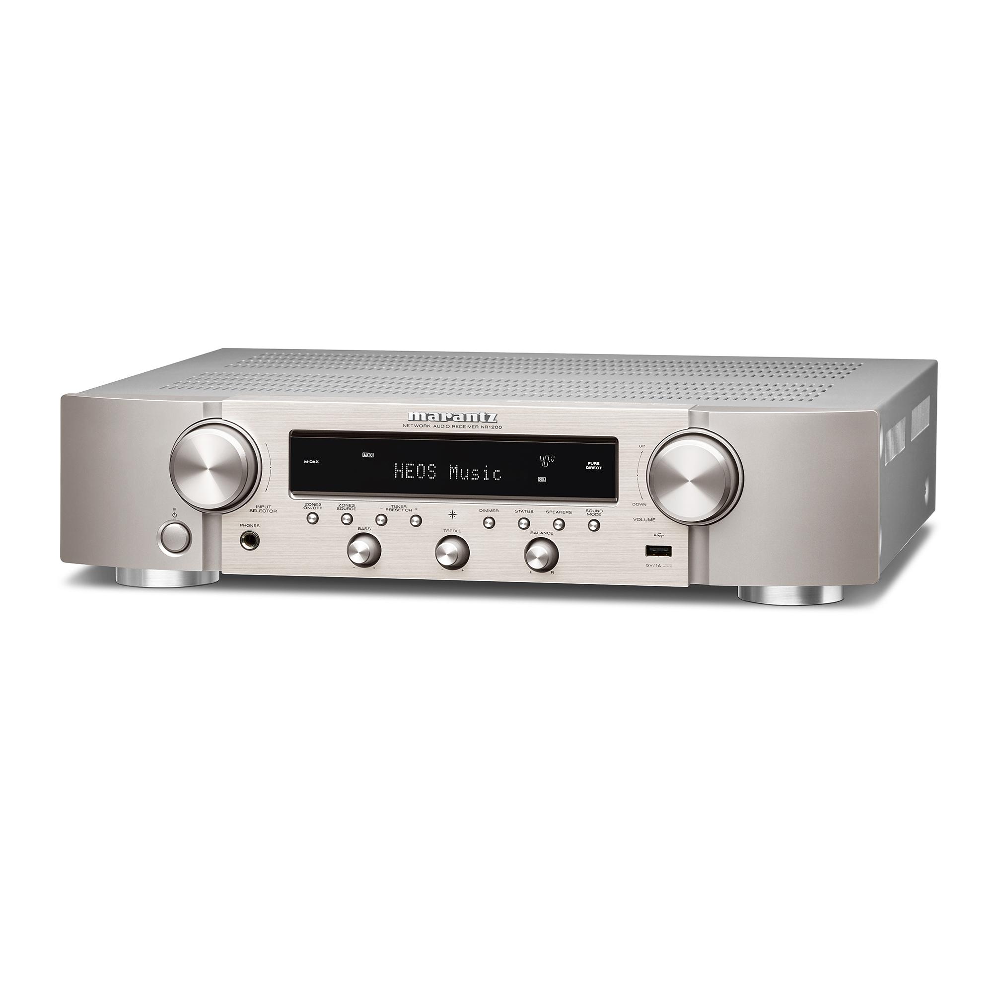 Marantz NR 1200 silber/gold Stereo-Netzwerk-Receiver 101203