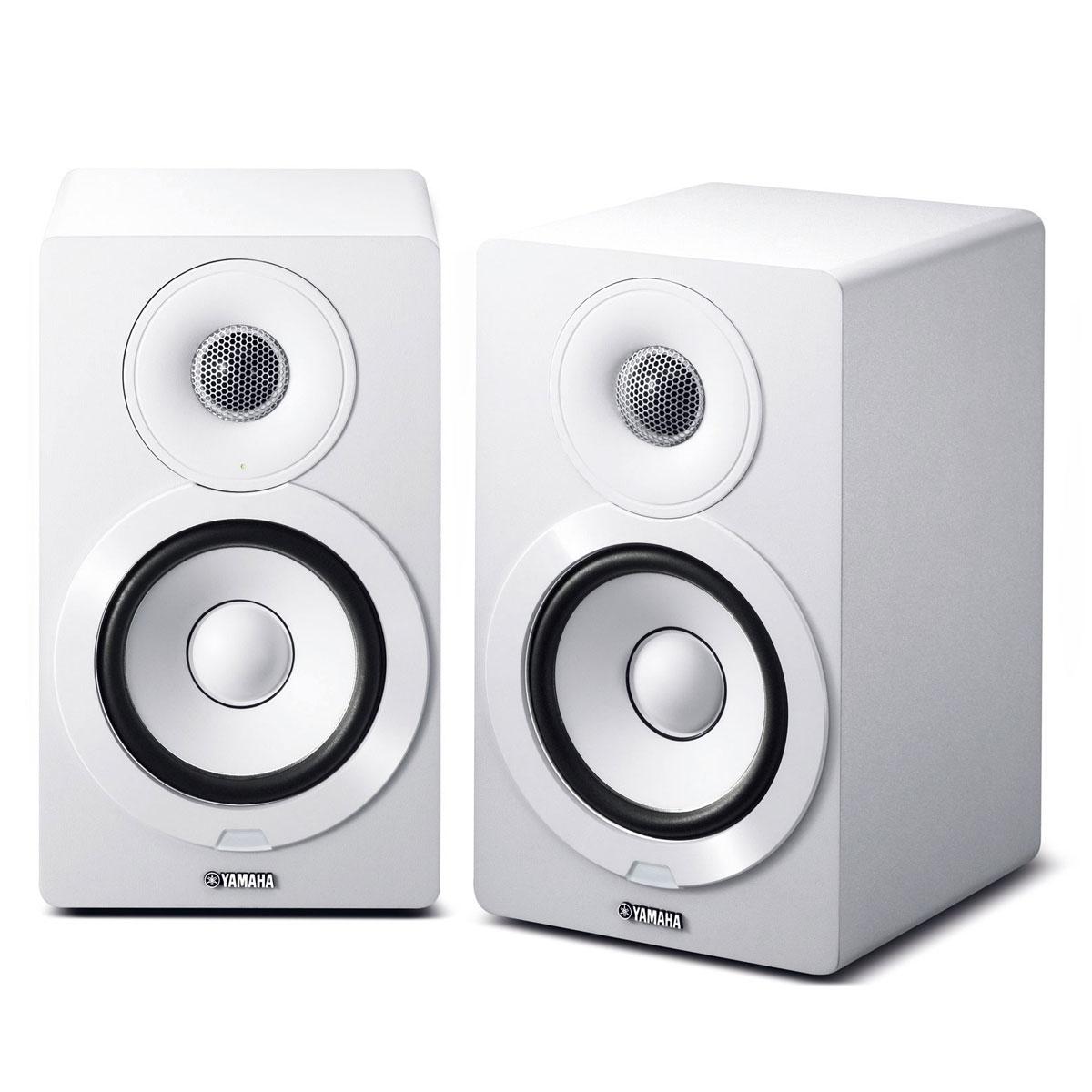 Yamaha NX-N 500 weiss Paar Wireless-Lautsprecher