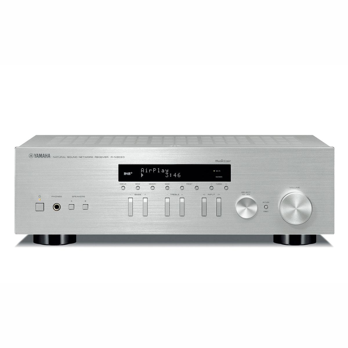 Yamaha R-N 303D silber Netzwerk-Receiver 100053