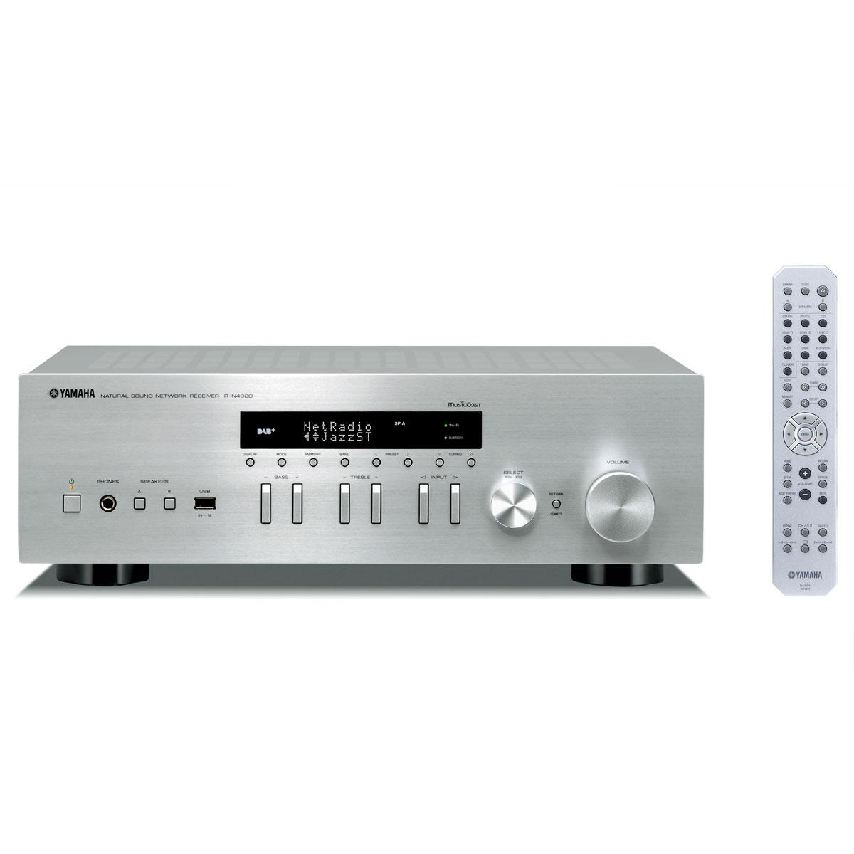Yamaha R-N 402D silber Netzwerk-Receiver 103111