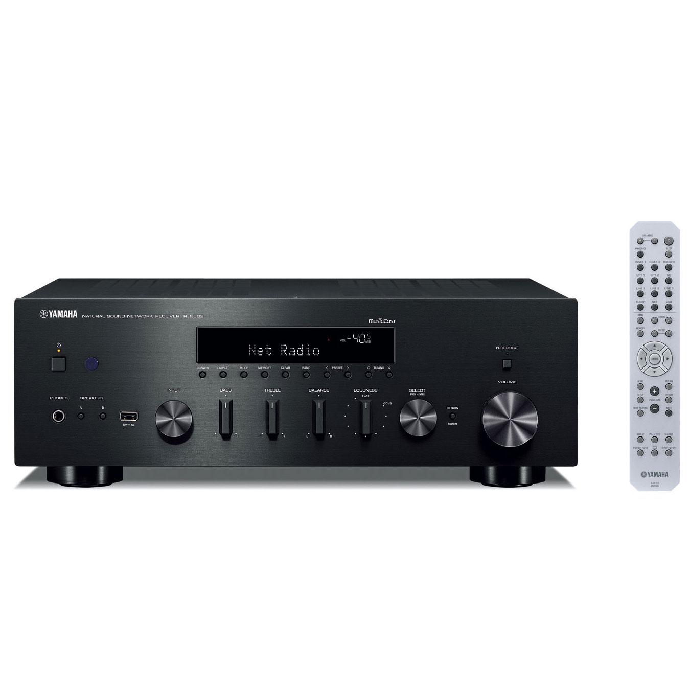 Yamaha R-N 602 schwarz Netzwerk-Receiver 103024