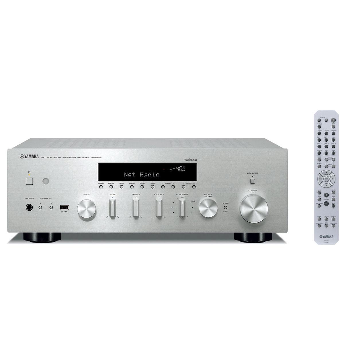 Yamaha R-N 602 silber Netzwerk-Receiver 103023