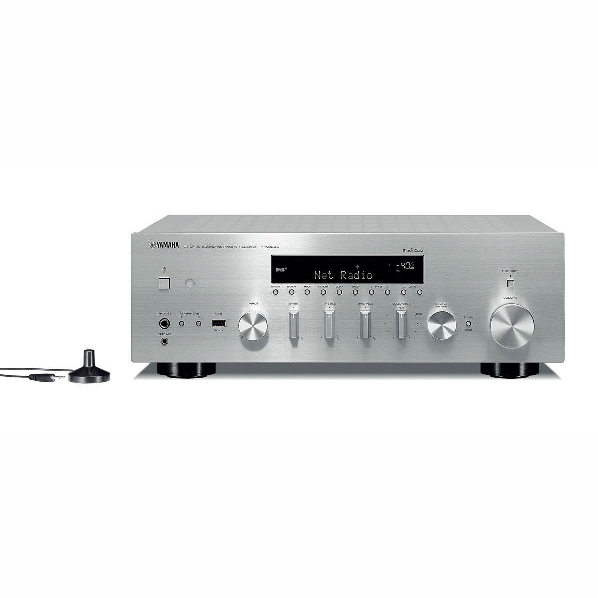 Yamaha R-N 803D silber Netzwerk-Receiver 100062