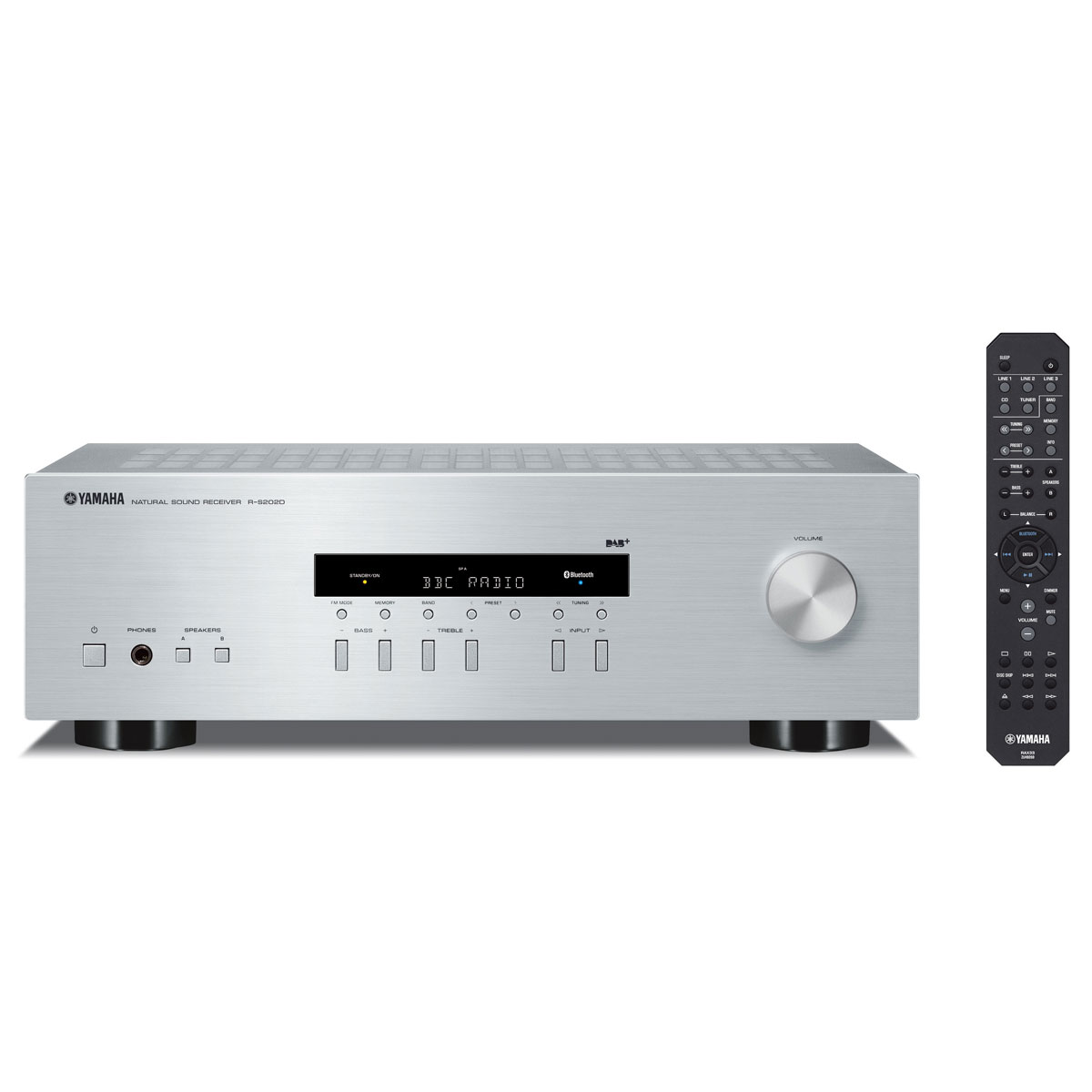 Yamaha R-S 202D silber Stereo-Receiver 45155