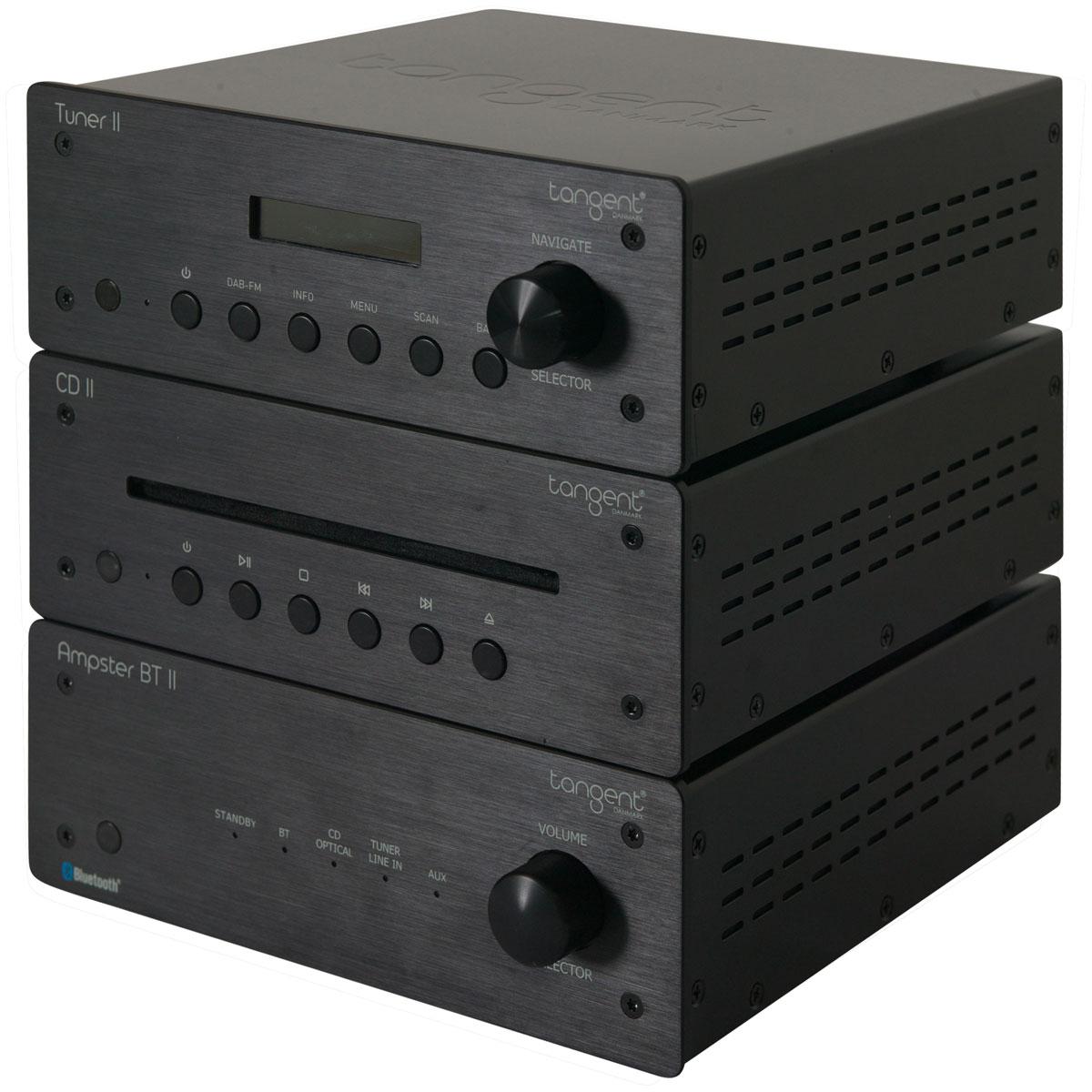 Tangent Hifi II schwarz kompaktes HiFi-System 101173