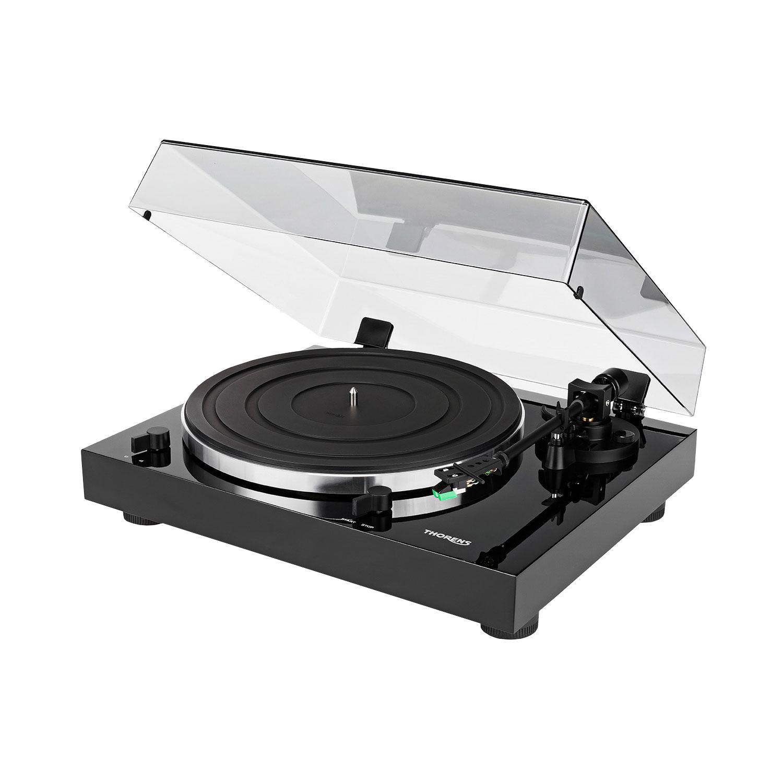 Thorens TD 202 schwarz hochglanz Plattenspieler 44302