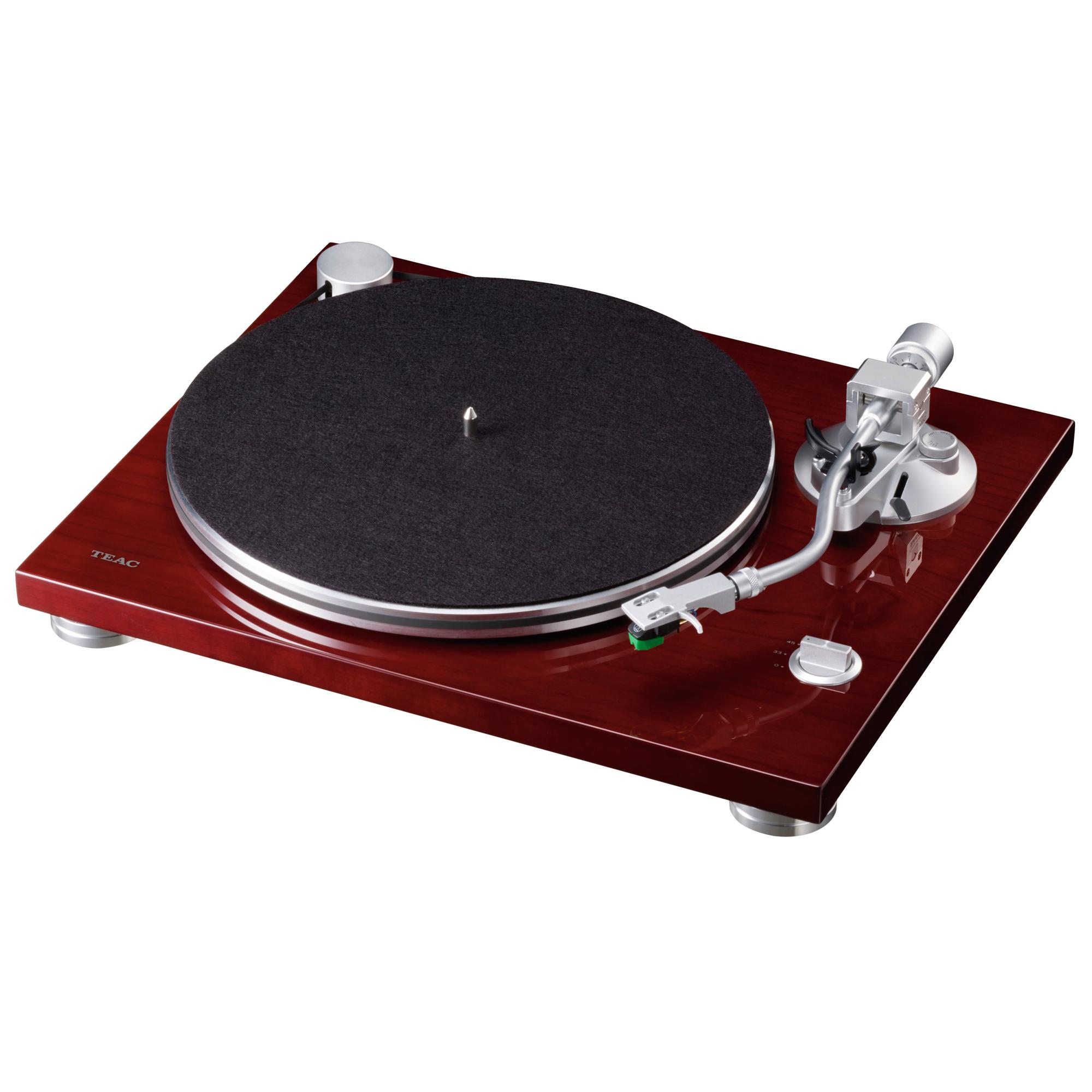 Teac TN-3B kirsche Plattenspieler 44187
