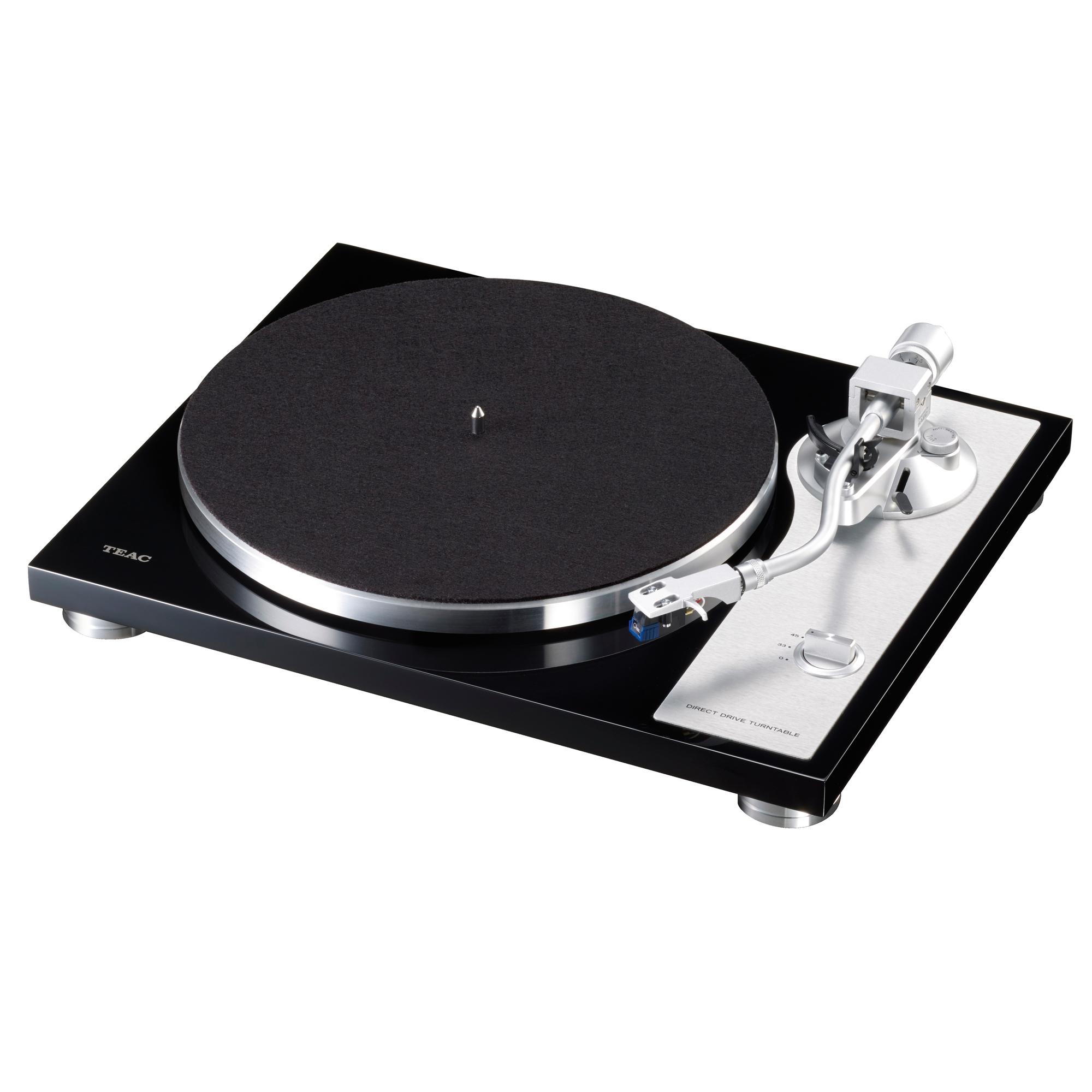 Teac TN-4D schwarz Plattenspieler 44188
