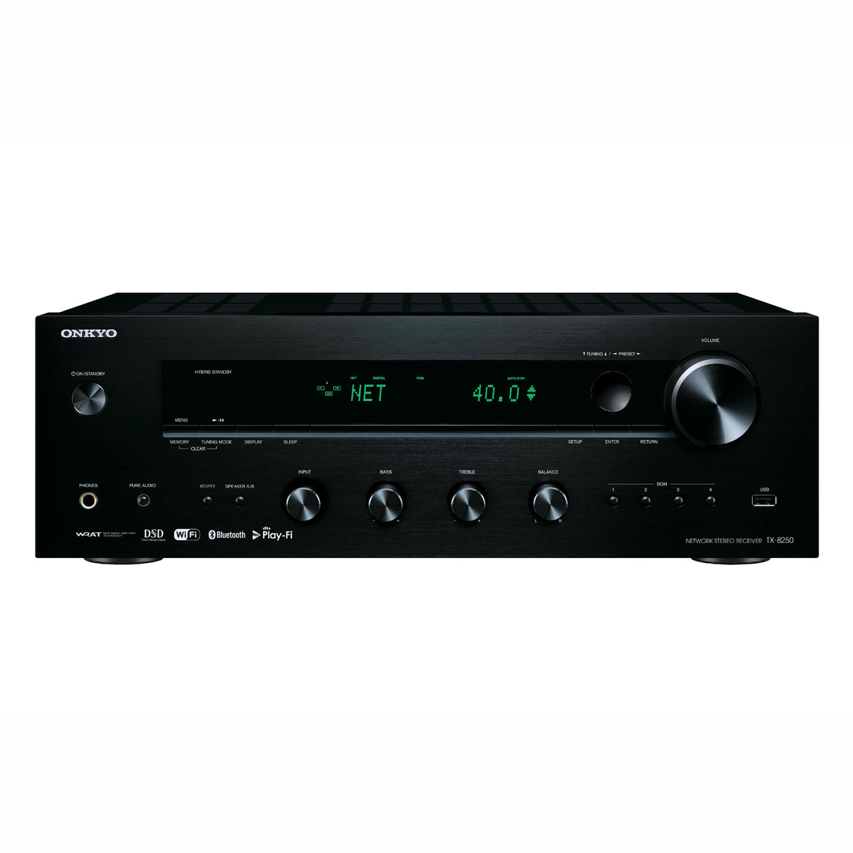 Onkyo TX-8250 schwarz Netzwerk-Receiver 991028