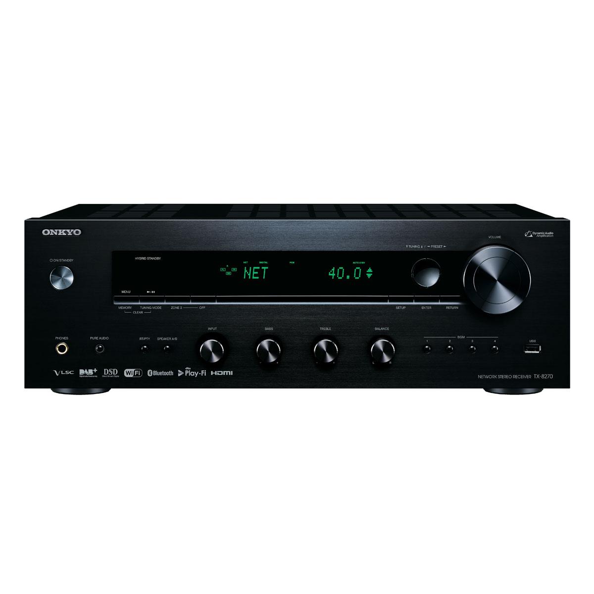 Onkyo TX-8270 schwarz Netzwerk-Receiver 99946
