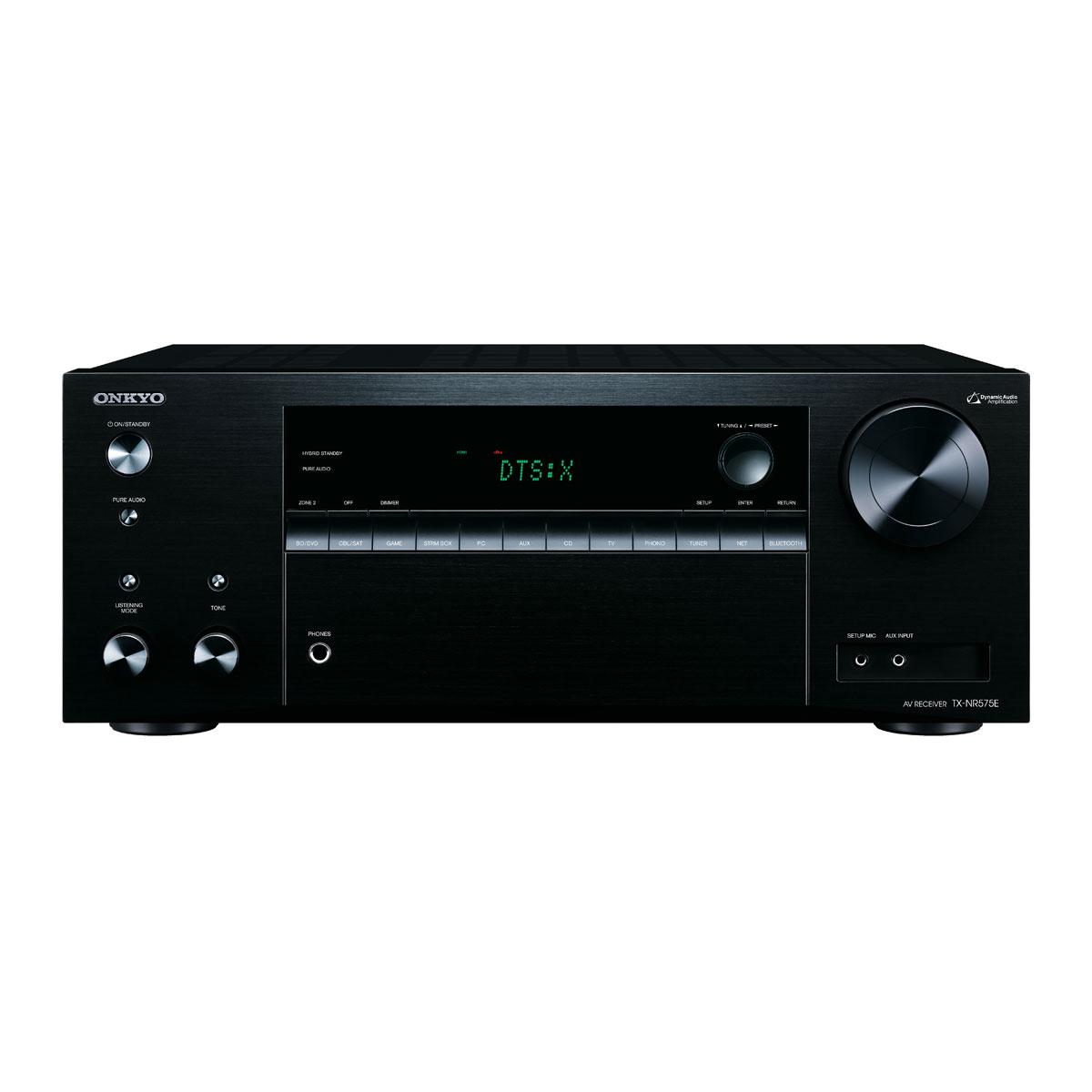 Onkyo TX-NR 575 E schwarz Heimkinoreceiver 99951