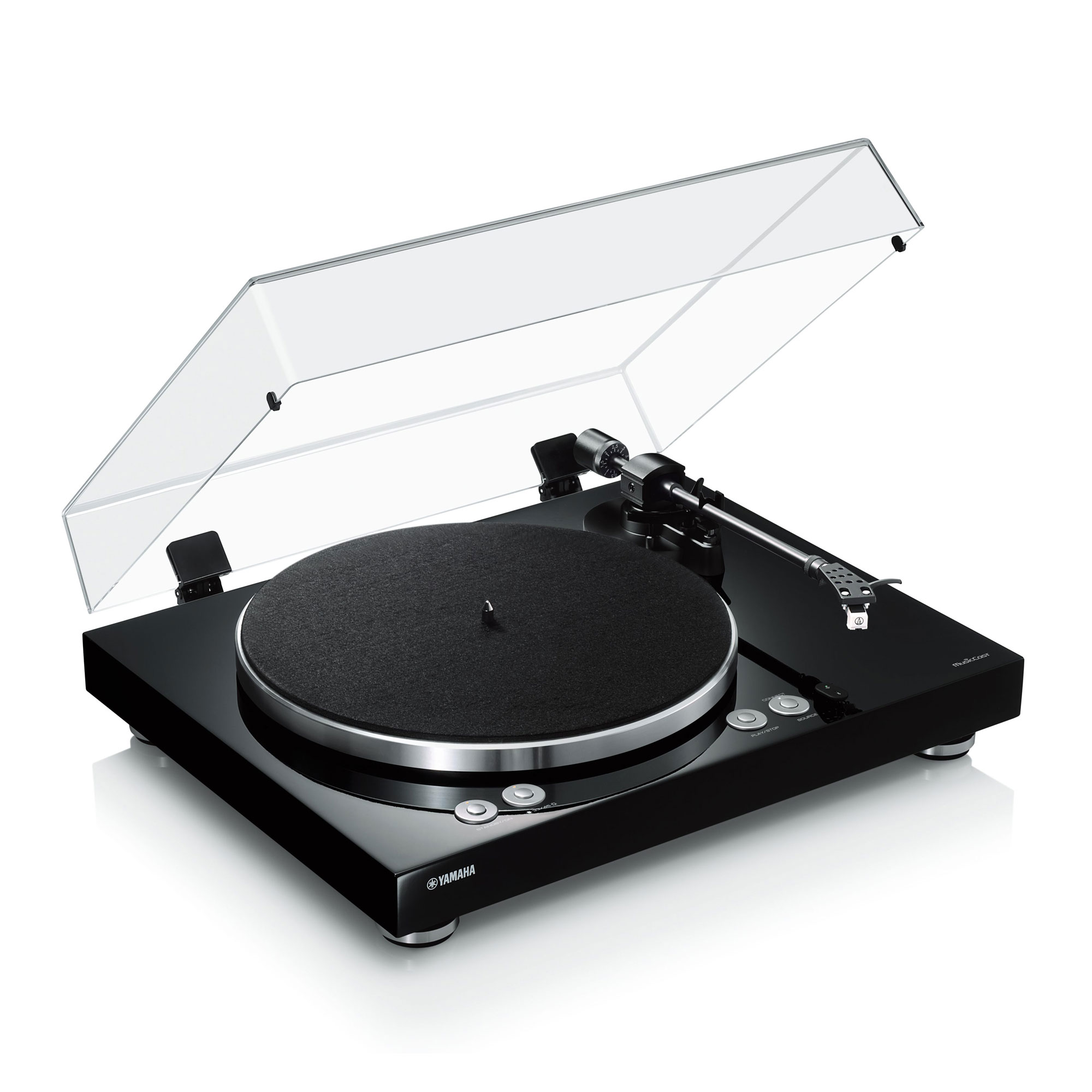 Yamaha MusicCast VINYL 500 TT-N 503 schwarz Plattenspieler 44300