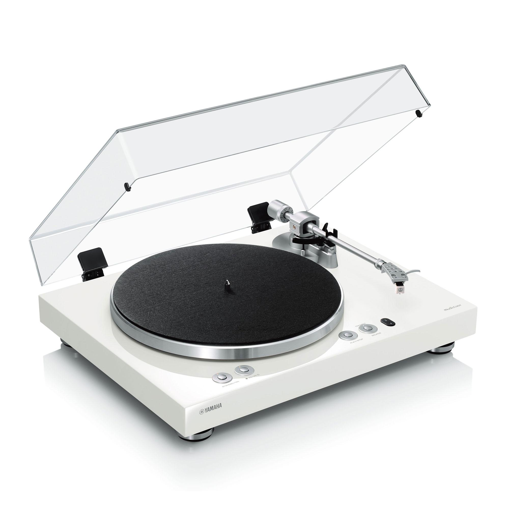 Yamaha MusicCast VINYL 500 TT-N 503 weiss Plattenspieler 43001
