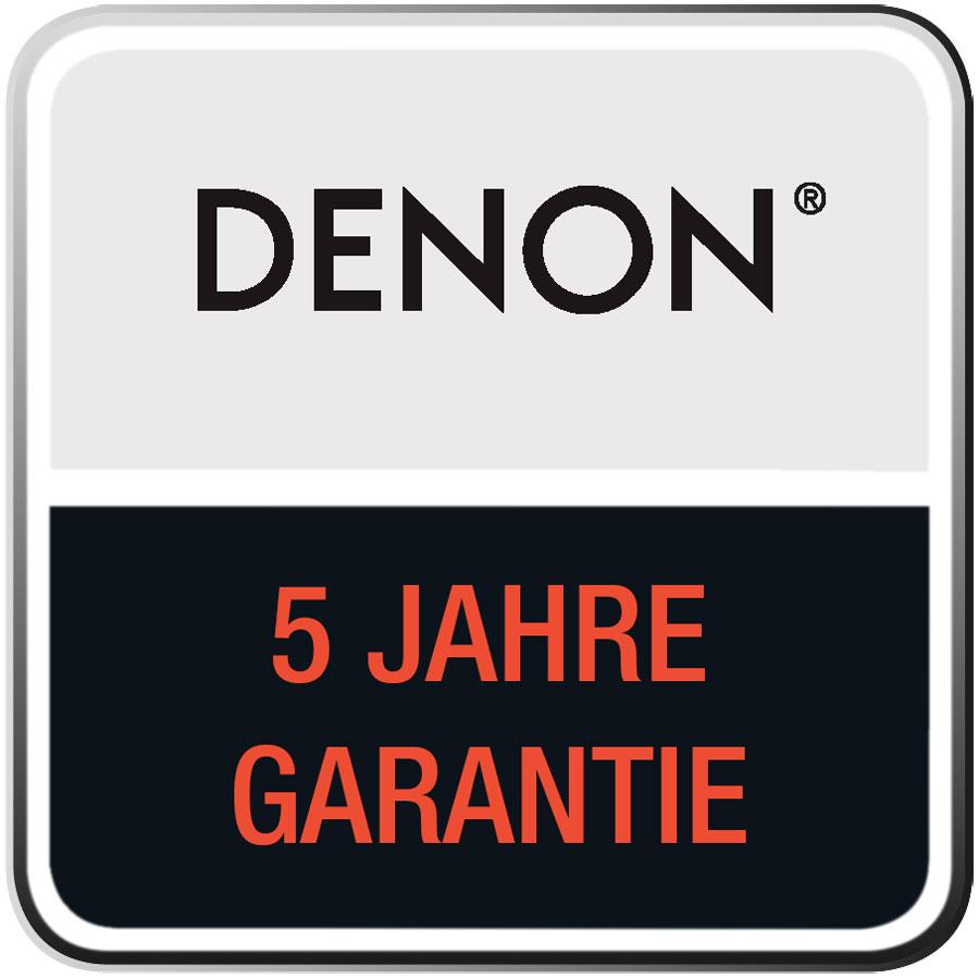 Denon Premium 5 Jahre Garantie Logo